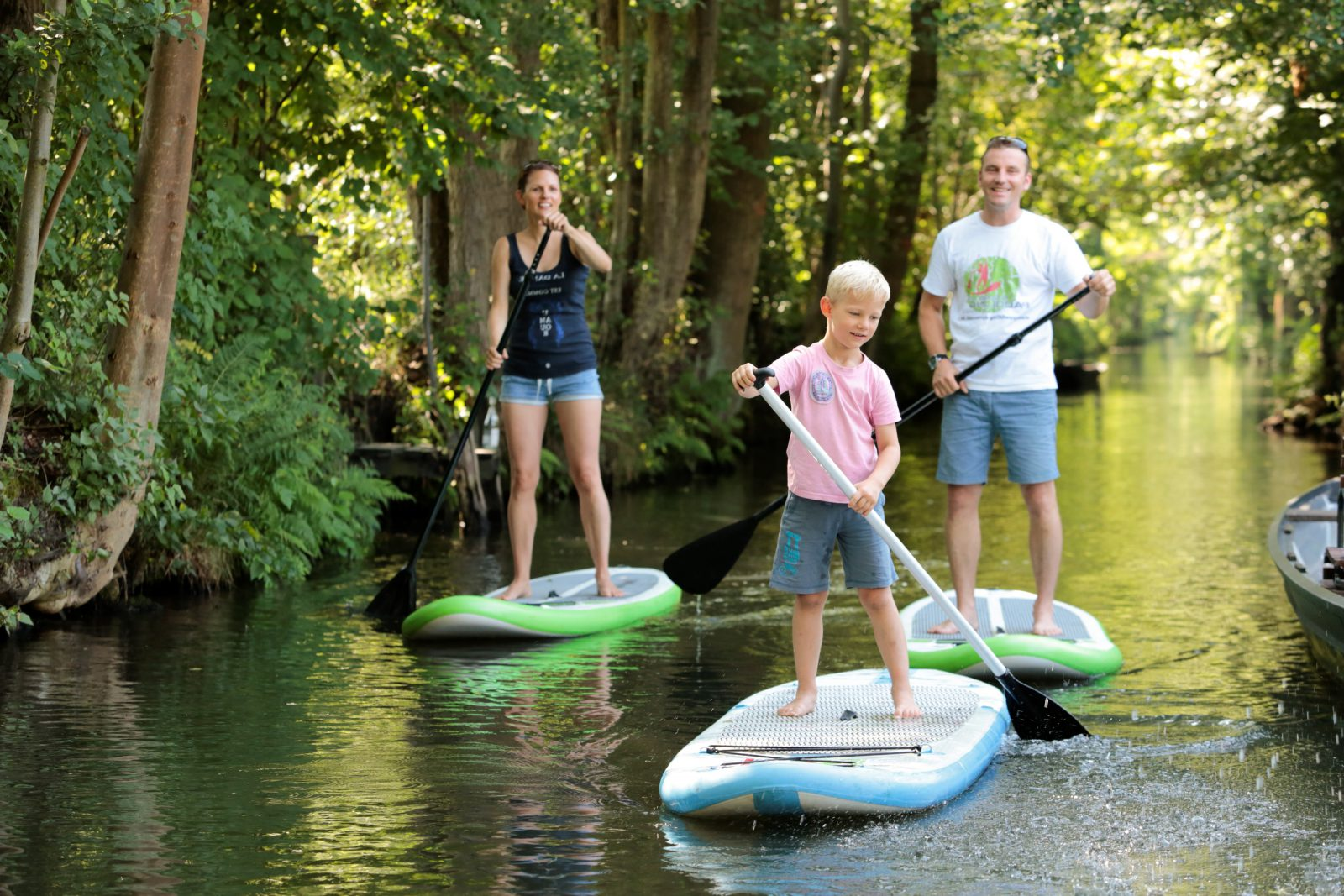 Stand Up Paddling Spreewald