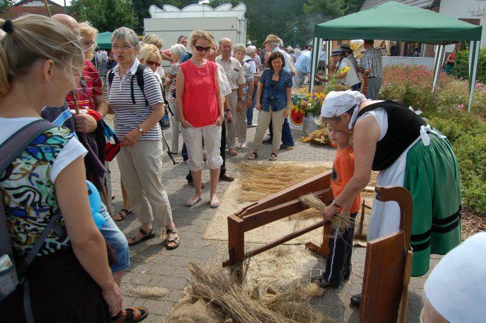 Mitmachen und Handwerk erleben auf dem 15. Spreewälder Handwerker –und Bauernmarkt in Burg