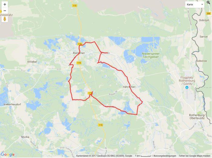 Radtour Heidelandschaft