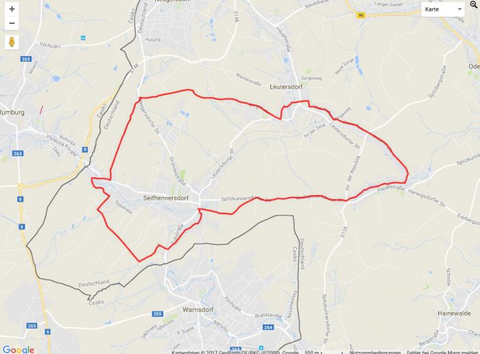 Radtour Karasek