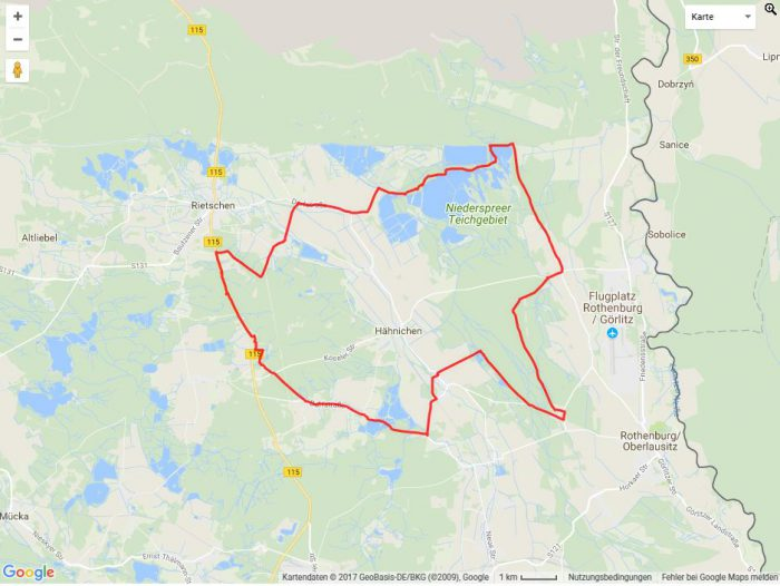 Radtour Niederspree Teichgebiet