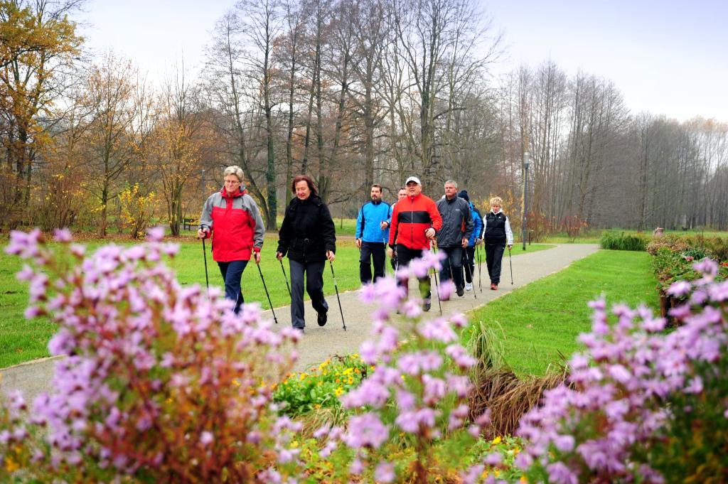 Nordic Walking Tour durch Burg (Spreewald)