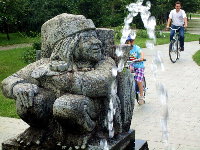 Sagenfigur im Kur- und Sagenpark  | Foto: