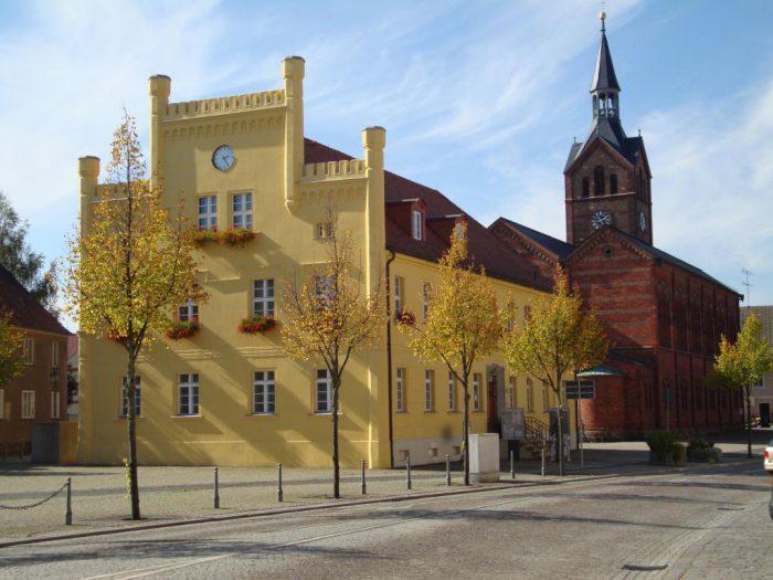 Das Rathaus in Peitz. | Foto:  Kultur- und Tourismusamt Peitz