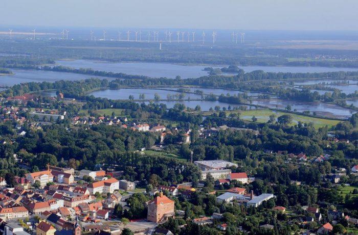 Blick über Peitzer Land   Foto:  Kultur- und Tourismusamt Peitz