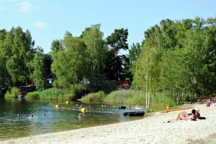 Erholungsgebiet Bad Erna   Foto:  H. Richter