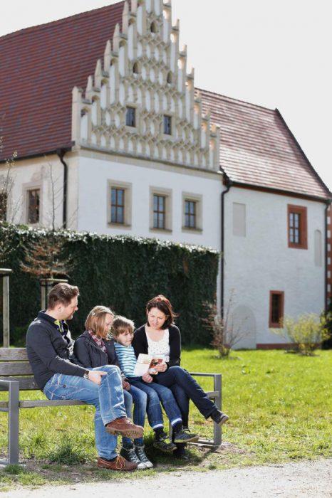 Das Museum Mühlberg 1547 befindet sich in der 1531 errichteten Neuen Propstei des Zisterzienserinnenklosters St. Marienstern. Hier wird Geschichte zum Erlebnis. | Foto:  LKEE/Kai Hüttner