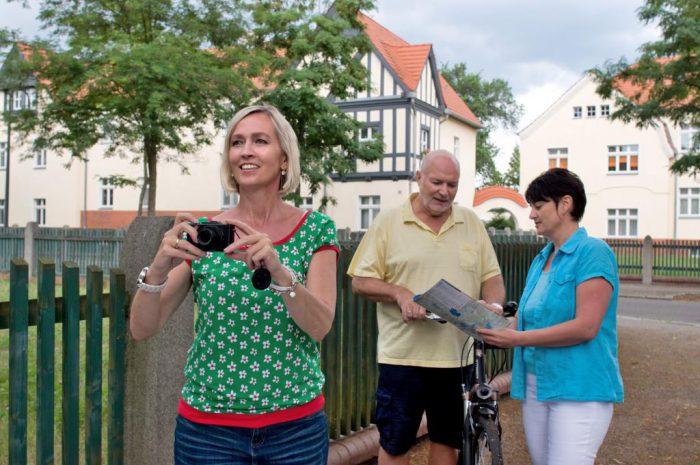 Entdecken Sie die Gartenstadt Marga. | Foto:  Tourismusverband Lausitzer Seenland/Nada Quenzel