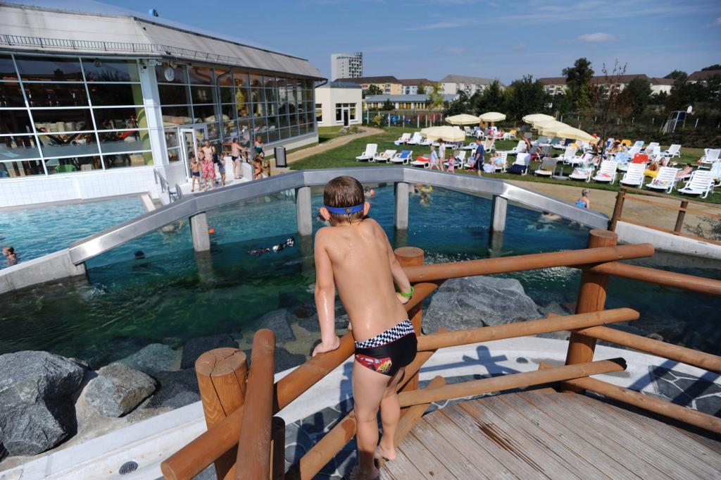 Badespaß: in den Spreewelten Lübbenau