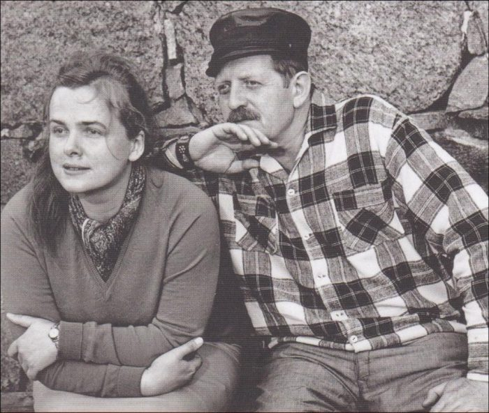 Erwin und Eva Strittmatter  | Foto: Edith Rimkus-Beseler