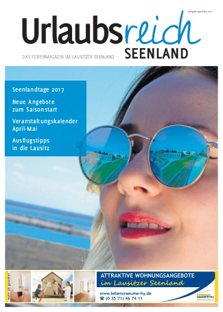 Urlaubsreich Seenland | Ausgabe April/Mai 2017