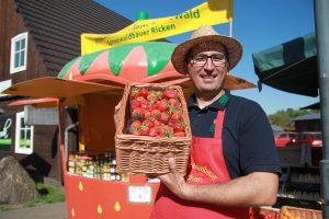 Erdbeeren vom Spreewaldbauer Ricken