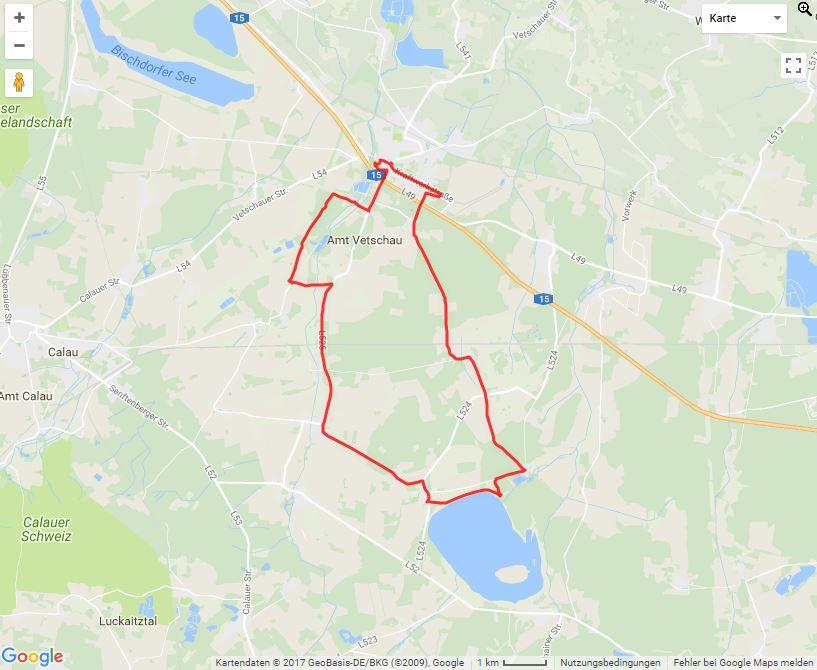 Tourverlauf der Tour Die Energietour mit dem Fahrrad erleben