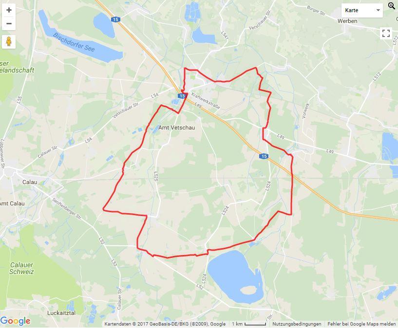 Tourverlauf der Tour Die Kirchentour mit dem Fahrrad erleben