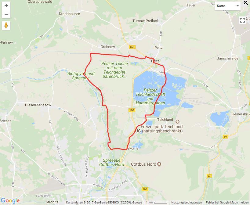 Tourverlauf der Tour Die Wassertour mit dem Fahrrad erleben