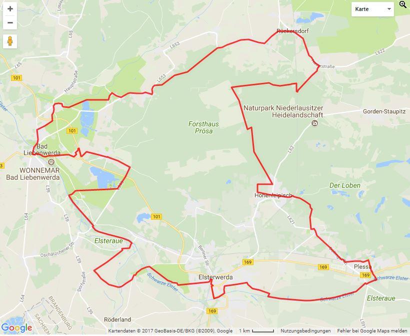 Tourverlauf der Tour Die Apfelroute mit dem Fahrrad erleben