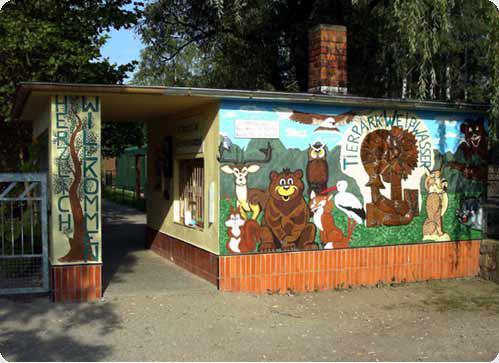 Eingang Tierpark Weißwasser   Foto: