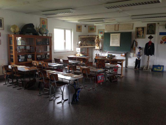 Klassenzimmer in der DDR