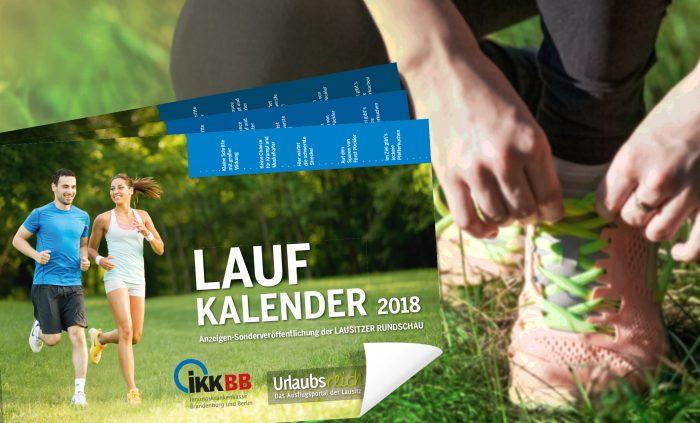 Die Lausitz läuft – Laufkalender 2018