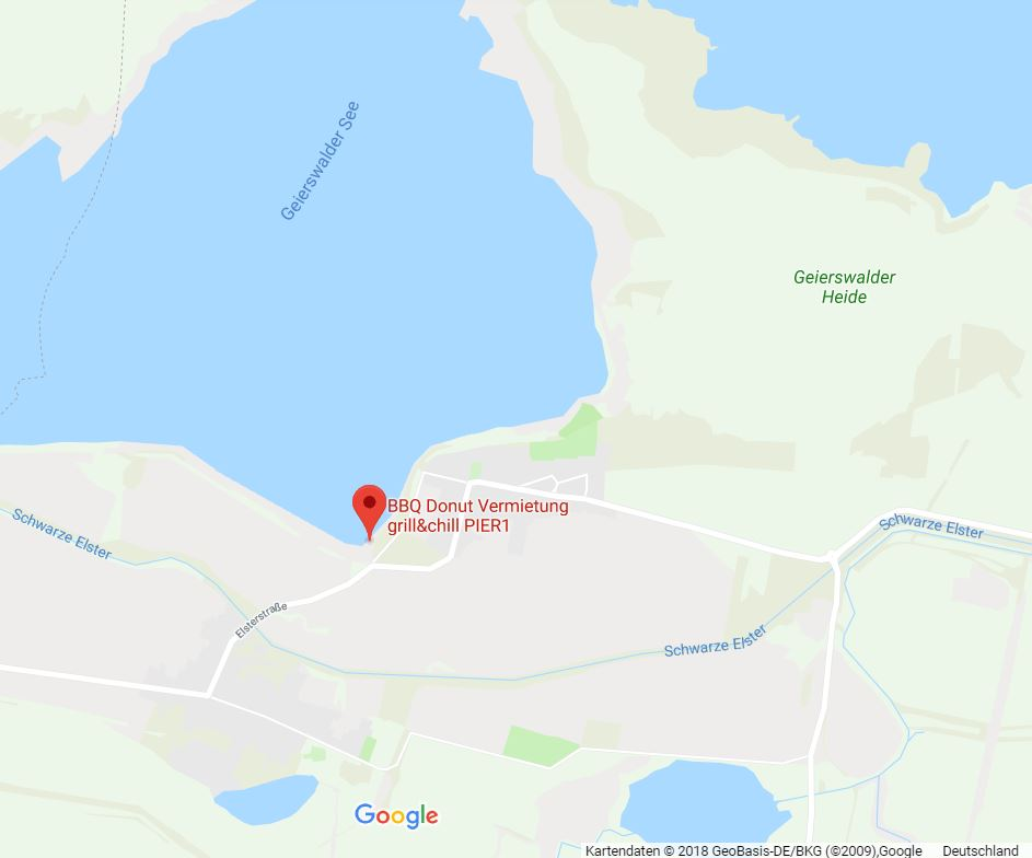 Ausflugsziel auf der Karte