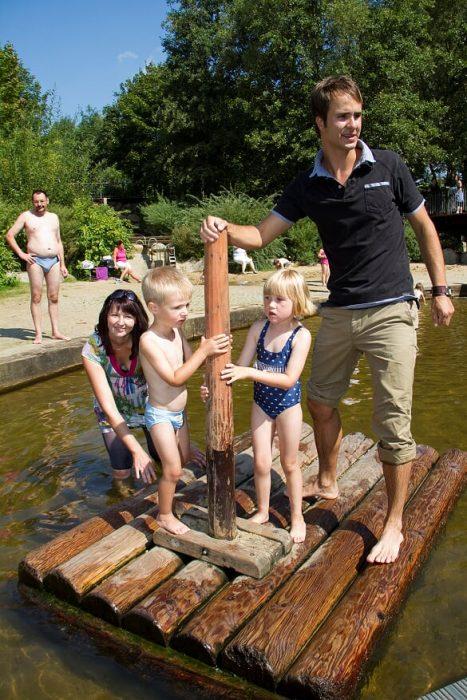 Ferienspaß mit der gesamten Familie in der Lagune im Herzen Lübbens