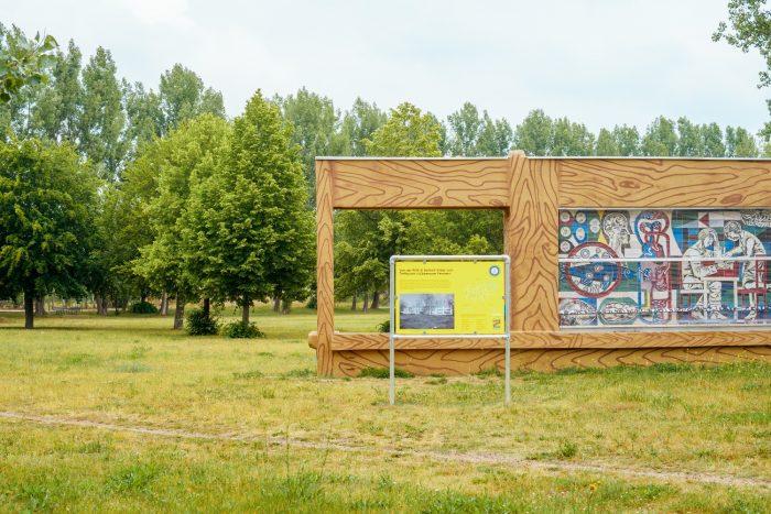 """Tafel 25: Treffpunkt """"Lübbenauer Fenster"""" Foto: frameratemedia"""