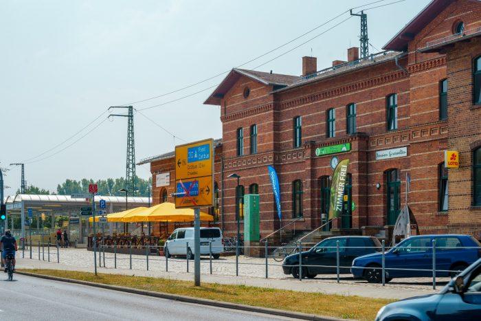 Standort 7: Bahnhof Lübbenau Foto: frameratemedia